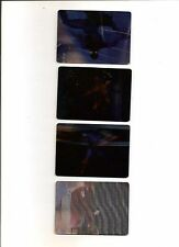 Marvel Motion Fleer/Skybox 1996 Virtual Vision 4 Card Chase Set Extremely Rare
