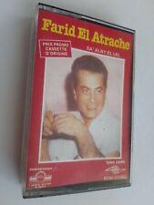 "FARID EL ATRACHE ""sa' alny el lel"" - K7 / cassette audio / Tape"