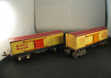 Lionel USA n° 1679 Wagon marchandises Curtiss Baby Ruth lot de 2 en O