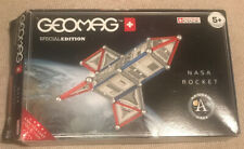 GEOMAG NASA ROCKET - SPECIAL EDITION ANNIVERSARY COLLECTION. USED BOXED COMPLETE