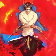 Sengoku Basara Doujinshi Katakura Kojuro x Date Masamune Sweetness With a Wicked