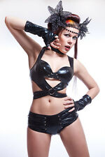 Lycra Set: Top con reggiseno, Hot Pants, Arms TULIPANI/top with Bra, Hot Pants, Gauntlets