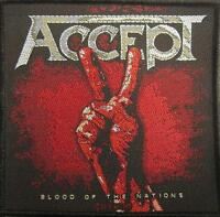 ACCEPT AUFNÄHER / PATCH # 4 BLOOD OF THE NATIONS
