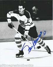 TORONTO MAPLE LEAFS FRANK MAHOVLICH SIGNED 8X10 PHOTO W/COA DETROIT RED WINGS A