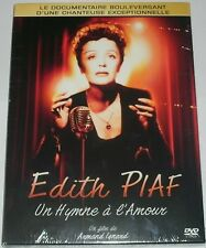 EDITH PIAF  UN HYMNE A L'AMOUR  /  DIGIPACK  DVD  NEUF