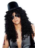 Costume Culture Franco Curly Rocker Slash Guns Roses Mens Wig Deluxe 24635