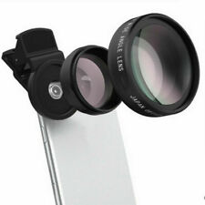 0.45x Wide Angle Lens W/ 12.5x Macro Lens Super HD For Camera Cell Phone Iphone