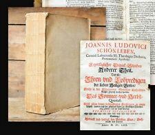 1669-70 Slowenien Slovenia Laibach Ljubljana Barock Erquick-Stunden Schönleben