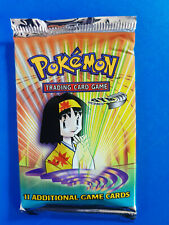 Gym Heroes Vintage Pokemon Booster Pack From Factory Sealed Box UNWEIGHED