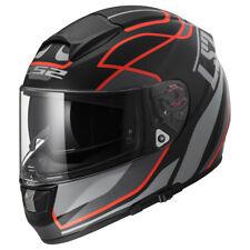 Ls2 Ff397 Vector Casco Moto Vantage Matt Black/rosso XL (z1u)