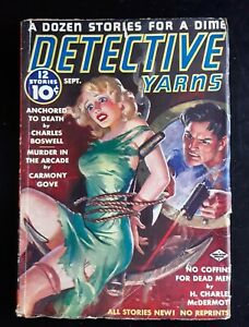 Detective Yarns Pulp Magazine 9/ 1938