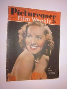 1941 Picturegoer Film Weekly  March 22 Jean Arthur on cover