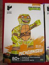 TMNT Michelangelo Paper Punk Figure Teenage Mutant Ninja Turtles Nickelodeon