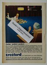 Werbeanzeige/advertisement A5: tretford Teppichboden 1967 (050916274)