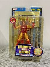 Marvel Legends Series 1 Iron Man NEW With Collector Wall Mountable Display Stand