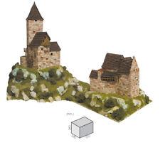 Aedes Ars - Stein Modellbau 2 Häuser Set H0