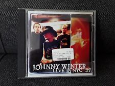JOHNNY WINTER - LIVE IN NYC '97  CD 9 TRACKS BLUES ROCK