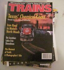 "Vintage ""TRAINS"" magazine October 1999"