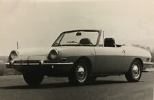 Rare Communiqué De Presse BERTONE 1971  FIAT 850 Spider