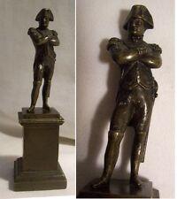 Statuette BRONZE miniature NAPOLEON 1er Bonaparte XIXème très fine TBE