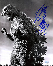 Kenpachiro Satsuma SIGNED 8x10 Photo Godzilla PSA/DNA AUTOGRAPHED Heisei series