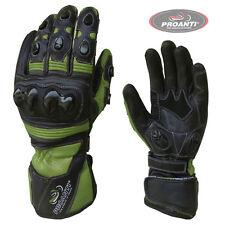 Motorradhandschuhe Pro Race Motorrad Leder Handschuhe von PROANTI
