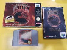 Mortal Kombat Trilogy GIOCO NINTENDO 64 N64