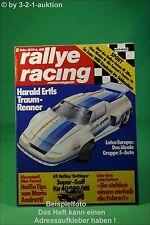 Rallye Racing 2/79 Lotus Europa Raffay GTI BMW 320 + Poster