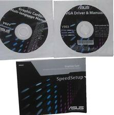 original Asus Treiber CD DVD V983 GTS450 driver NEW manual Grafikkarten NEU