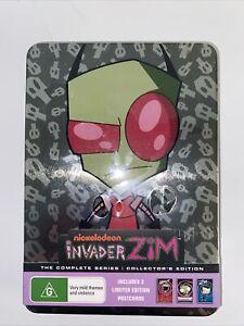 DVD Nickelodeon INVADER ZIM Complete Series Region 4