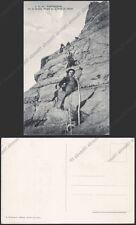 VALLE D'AOSTA COURMAYEUR 187 ALPINISMO - MONTE BIANCO - MONTAGNA Cartolina