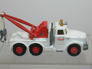 MATCHBOX KING SIZE  MODEL No.K2-3 SCAMMELL 'ESSO' HEAVY WRECK TRUCK