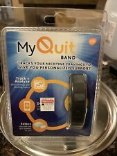 My Quit Wellness Band Stop Smoking Aid Wearable Technology NEW Best Before 3/20