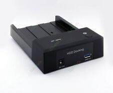 High Speed 2.5 3.5 inch SATA USB 3.0 Horizontal SATA Hard Disk Dock Station