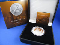 2011 RAM - KANGAROO SERIES $1 SILVER PROOF COIN - ALLIED ROCK-WALLABY