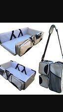 Diaper Bag Travel Bassinet Baby Nappy Bed Infant Safe Toddler CarryCot Portable