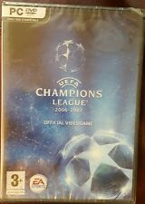 UEFA CHAMPIONS LEAGUE 2006-2007  PC DVD ROM (NEW & SEALED) OFFICIAL VIDEOGAME