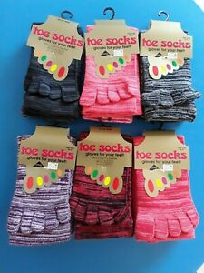 Super ANGEBOT 8 Paar Zehen-Socken verschiedene Farben 95% Baumwolle NEU 36-41