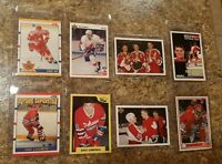 8) Eric Lindros 1990-91 Score Upper 7th Sketch Rookie card lot RC Flyers Rangers