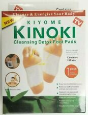 10 Cleansing Detox Foot Pads Patches KINOKI As Seen On TV Kiyome (1 Box )