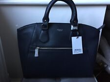 Osprey London Napa de cuero azul marino Grab Bag RRP £ 225