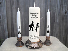 Personalised Wedding Unity Candle Set Disney Aladdin Gift Keepsake