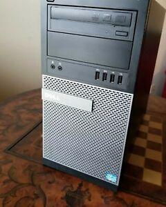 """Dell Opti. 9010 i7-3770 """"3.4Ghz"""" 12gb,Wifi,Vid Card,500gb hdd, Win10Pro 64bit"""