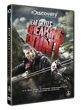 DISCOVERY CHANNEL BEAR GRYLLS Survival Expert Breaking Point NEW 2 DVD