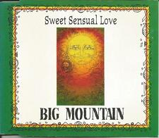BIG MOUNTAIN Sweet Sensual Love SPANGLISH & baby RADIO TRK 3TRX CD Single SEALED