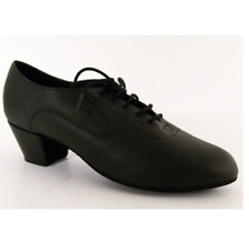 Black capezio latin oxford BR01 ballroom/latin dance shoes -size UK 2