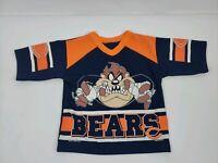 Vintage 90's Chicago Bears Kids Shirt NFL TAZ Jersey.  FREE SHIPPING