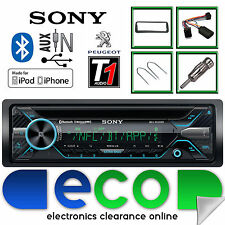 PEUGEOT 206 CC Sony CD mp3 USB Bluetooth Auto Stereo Volante Interfaccia Kit