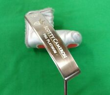 "Scotty Cameron Pro Platinum Laguna 2 Putter w/ Headcover 33.5"" RH"