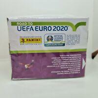 ROAD TO UEFA EURO 2020 PANINI - BOX WITH 50 PACKS/SOBRE/BUSTINA/TÜTEN